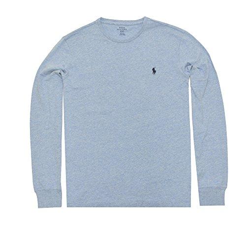 Polo+Ralph+Lauren+Men%27s+Long+Sleeve+Pony+Logo+T-Shirt+-+Large+-+New+Powder