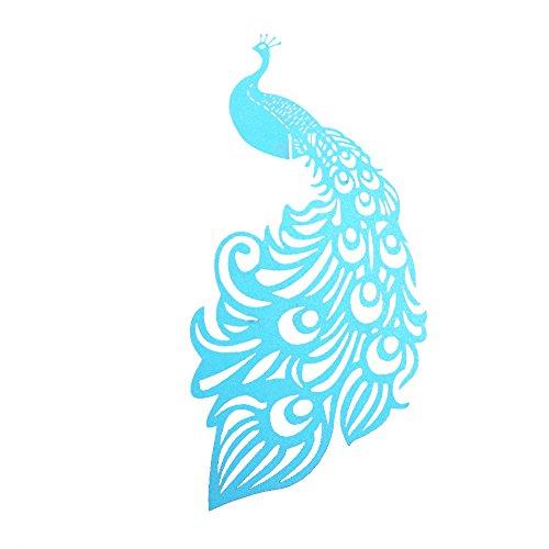 MagiDeal 50pcs Peacock Wedding Decoration