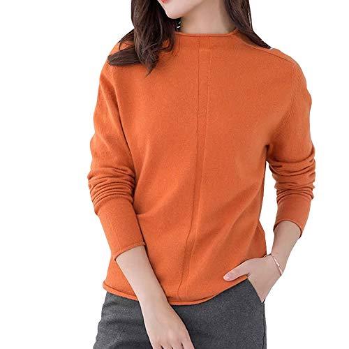 Lunga Manica Orange Maglione Valin Donna qOwE8Z1