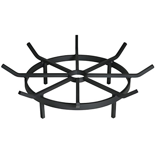 Heritage Products Wagon Wheel Grate for Outdoor Fire Pit, 24