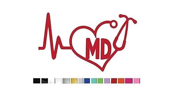 I Love Maryland Sticker Decal Die-Cut Vinyl 2