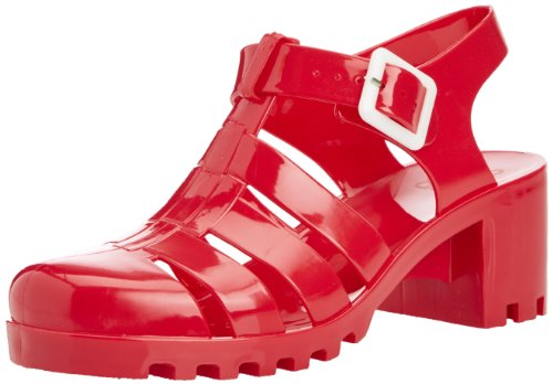 of Colors Femme california Rouge Tacco Sandales Jelly SU Ragnetto q66wxdRg