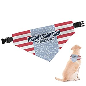 RNK Shops Labor Day Dog Bandana (Personalized) 1