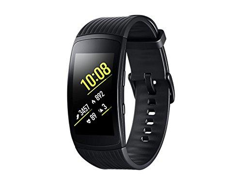 49 opinioni per Samsung Gear Fit2 Pro Smartband, Nero (Large), GPS, Impermeabile 5 ATM [Versione