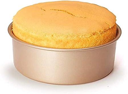 قالب دائري من الخبز، قالب الخبز المطبوع، قالب الخبز المطبخ، صينية كعك دائرية غير لاصقة 20.32 سم، سهلة التنظيف، ليس من السهل تشويهه (قطعتان)، 8 بوصة جوي باي سعودي