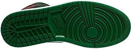 (ナイキ) エア ジョーダン 1 MID 554724-067SP20HP (ブラック×グリーン/27.0/Men's)