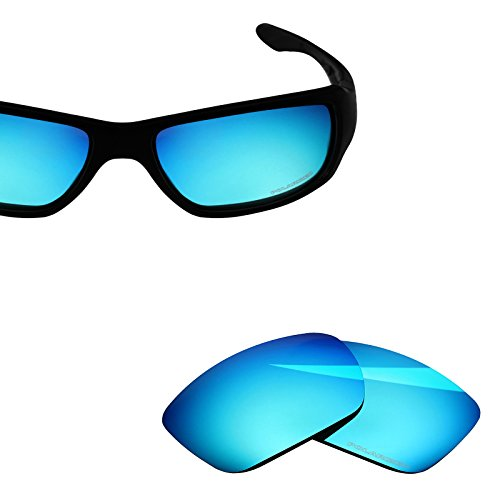 BlazerBuck Anti-salt Polarized Replacement Lenses for Oakley Big Taco - Ice Blue by BlazerBuck