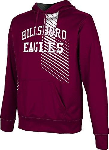 ProSphere Men's Hillsboro High School Hustle Hoodie Sweatshirt (Apparel) - 76645 Hillsboro Tx