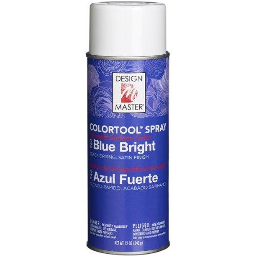 (Design Master 744 Spray Paint, Blue)