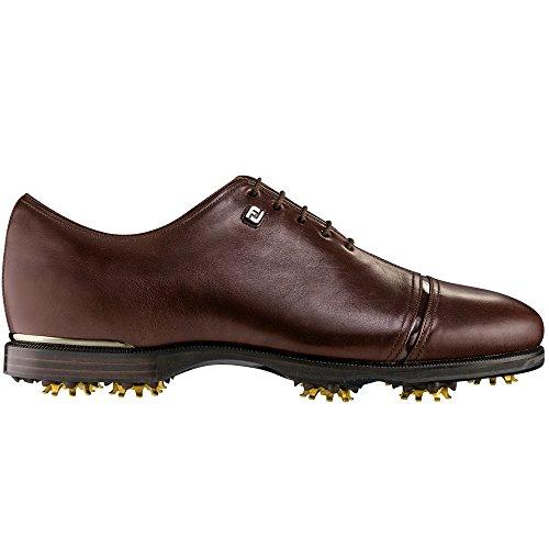 Footjoy Icon Black Golf Shoes Brown 9.5 Medium- Closeout 52068 -mens golf shoe