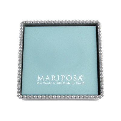 Mariposa Beaded Napkin Box (Cocktail Napkin Holder)