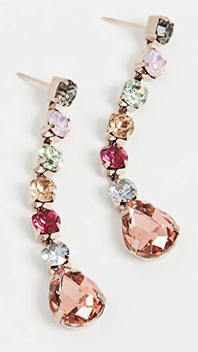 Theia Jewelry Women's Ariana Linear Drop Earrings