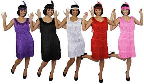 I LOVE FANCY DRESS LTD Disfraz DE Flapper Mujer - Vestido con ...