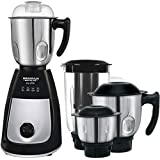 Maharaja Whiteline Joy Elite 750 Watt 4 Jar Mixer Grinder,Black & Steel