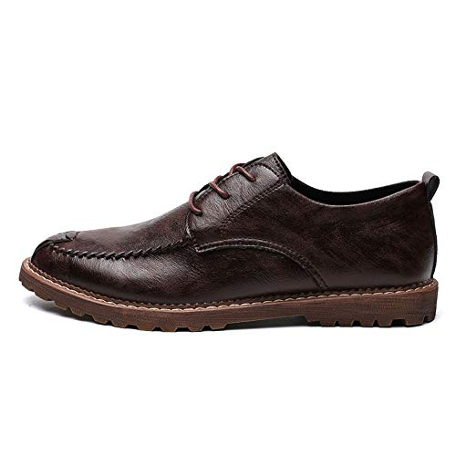 Lan Shuo Formelles Hu Taille Oxford Round 42 Simple Wai Hommes Cricket Optionnel Chaussures Eu Brown Casual D'affaires chaussures chaud De color Light Head Warm Classiques rrdxqP4