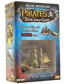 (WizKids Constructible Strategy Game Pirates of Davy Jones' Curse Special Edition Box)