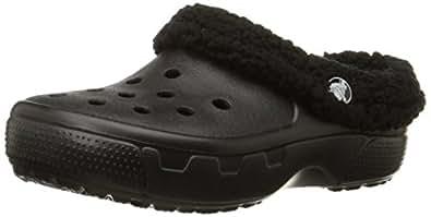 crocs Kids' Mammoth EVO Clog (Toddler/Little Kid),Black/Black,J1 M US Little Kid