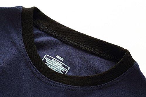 Koian Little Boys Short Pajamas Sets Toddler PJS Cotton Kids Sleepwears (Blue Dinosaur, 2T) by Koian (Image #2)
