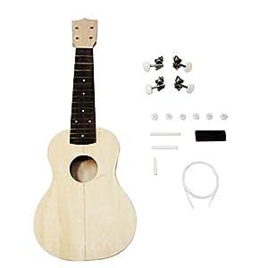 shsyue make your own ukulele hawaii ukulele diy ukulele kit musical instruments. Black Bedroom Furniture Sets. Home Design Ideas