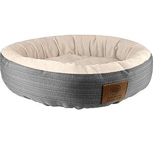 Awesome American Kennel Club Akc3615Gray Mason 22 Round Pet Bed Creativecarmelina Interior Chair Design Creativecarmelinacom