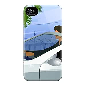 Fashionable Style Cases Covers Skin For Iphone 6plus- 3d Leisure Tourism