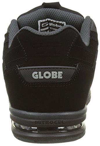 Black de Fury Negro Black Unisex Zapatillas Skateboarding Globe Adulto q0f4BAAn