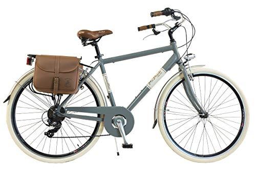 🥇 Via Veneto by Canellini Bicicleta Bici Citybike CTB Hombre Vintage Retro Via Veneto Aluminio