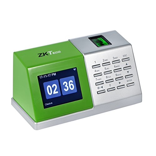 ZKTeco CT20 Fingerprint Desktop Time Attendance Machine Biometric Time Clock Time Recorder Employee Time-Tracking without Installation