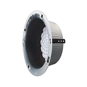 New Bogen Round Recessed Ceiling Speaker Enclosure 8in Cone-Type Loudspeakers UL Approved