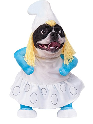 Rubie's Smurfs The Lost Village Walking Smurfette Pet Costume, X-Large