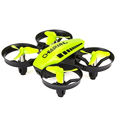 Cheerwing CW10 Mini Drone for Kids WiFi FPV Drone with Camera Remote Control Quadcopter with Altitude Hold and One Key Take-Off/Landing by Cheerwing