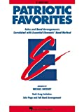 Patriotic Favorites - Eb Alto Saxophone, Michael Sweeney, 0634050184
