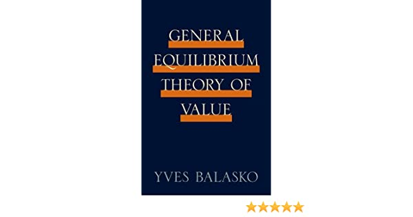 General equilibrium theory of value 9780691146799 economics books general equilibrium theory of value 9780691146799 economics books amazon fandeluxe Images