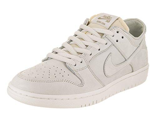 Low Mens Skateboard Shoes (Nike Men's SB Zoom Dunk Low Pro Decon Light Bone/Light Bone Skate Shoe 10.5 Men US)
