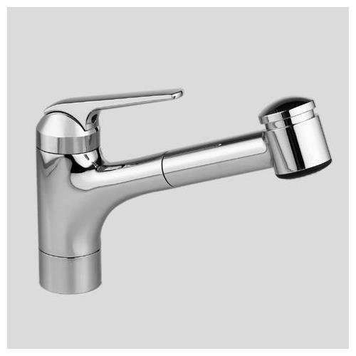 KWC Faucets 10.061.032.127 DOMO Pull Out Kitchen Faucet, 7