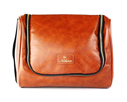 d27dc5b7eefc By Nelson Toiletry Bag - Our Best Leather Dopp Kit That s A Perfect Travel  Storage Solution