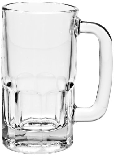 Anchor Hocking 1152U 4-1/4 Inch Diameter x 5-3/4 Inch Height, 12-Ounce Beer Wagon Mug (Case of 24)