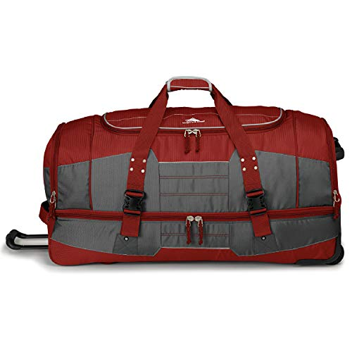 (High Sierra Ultimate Access 2.0 Drop-Bottom Wheeled Duffel )