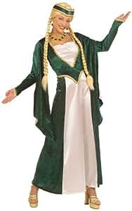 Widmann 5714M disfraces vestido de dama medieval y el tocado| talla XL