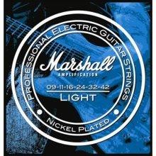 Marshall MRSTR0942E - Juego de cuerdas para guitarra eléctrica (calibre 009 a 042)