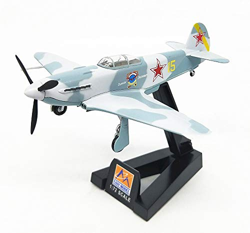 """EP-Toy Aircraft Model, World War II Weapons Soviet Yak-3"""" Finished Product Model, Military Decorative Non-Souvenir Souvenirs from EP-Toy"""