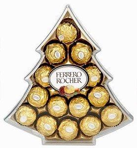 Amazon.com : Ferrero Rochers Xmas Tree Gift Box (15pc), 5.3oz ...