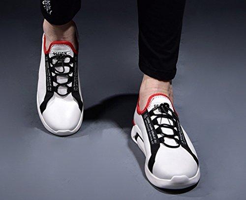 40 GOLDGOD Hommes Chaussures Pour Chaussures White Cuir Hommes Pour En zzrnwgqU