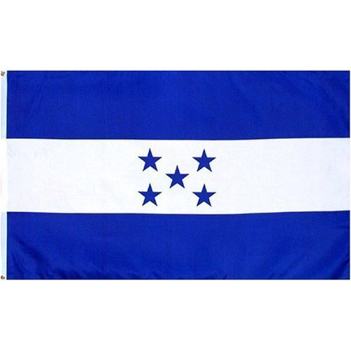 Printed Polyester Flag - Honduras 3ft x 5ft Printed Polyester Flag