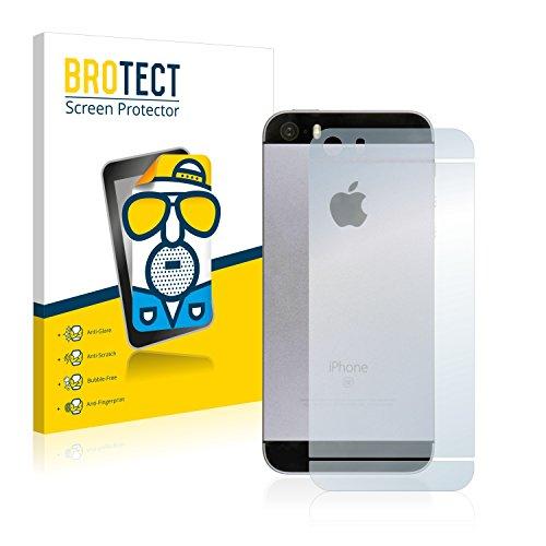 2x BROTECT Pellicola Protettiva Opaca per Apple iPhone SE Posteriore (intera superficie) Proteggi Schermo - Opaco, Antiriflesso