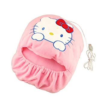 4974b2f70 Image Unavailable. Image not available for. Color: USB Foot Warmer --  Hellokitty