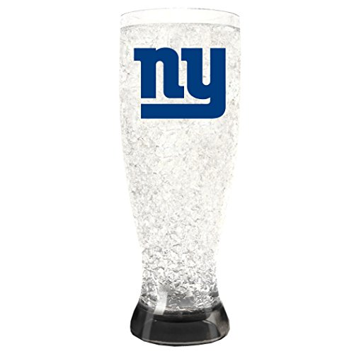 NFL New York Giants 16oz Crystal Freezer Pilsner 16 Ounce Pilsner Mug
