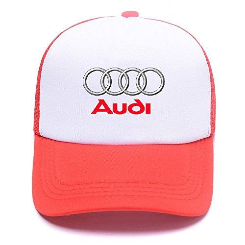 Logo Y8132E for Red Women AUD Girl Men Béisbol Hat with Trucker Gorras de Baseball Boy Caps qUR4F