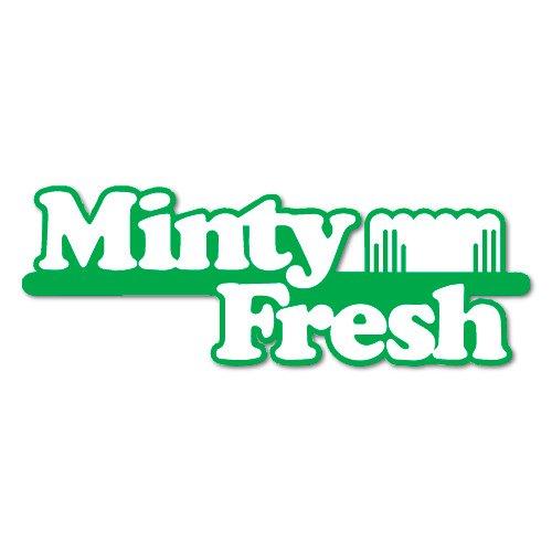 Decal Fresh (MINTY FRESH JDM Sticker Decal)