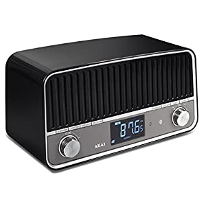 Radio vintage Bluetooth APR500BK negro